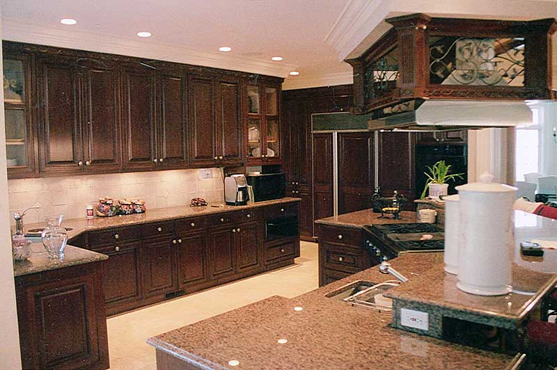 Robert minturn coale portfolio page 5 for Mahogany kitchen designs