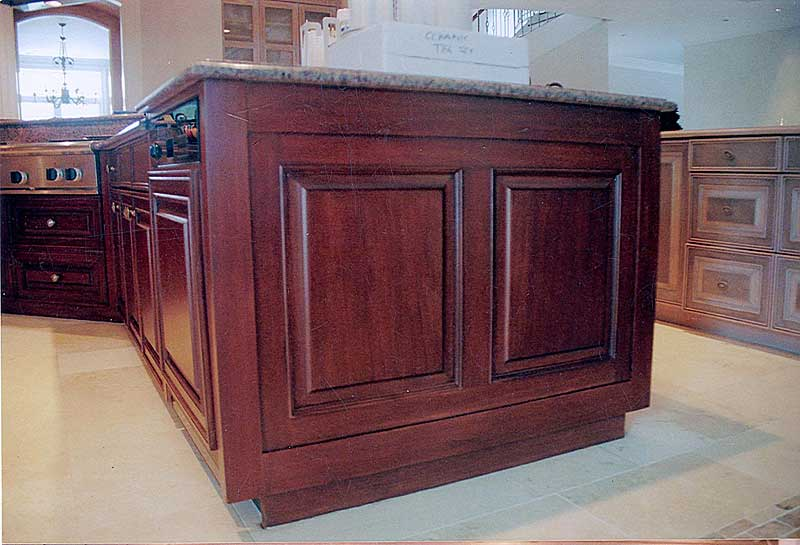 Red Mahogany Kitchen Cabinets Monsterlune – Mahogany Kitchen Cabinet